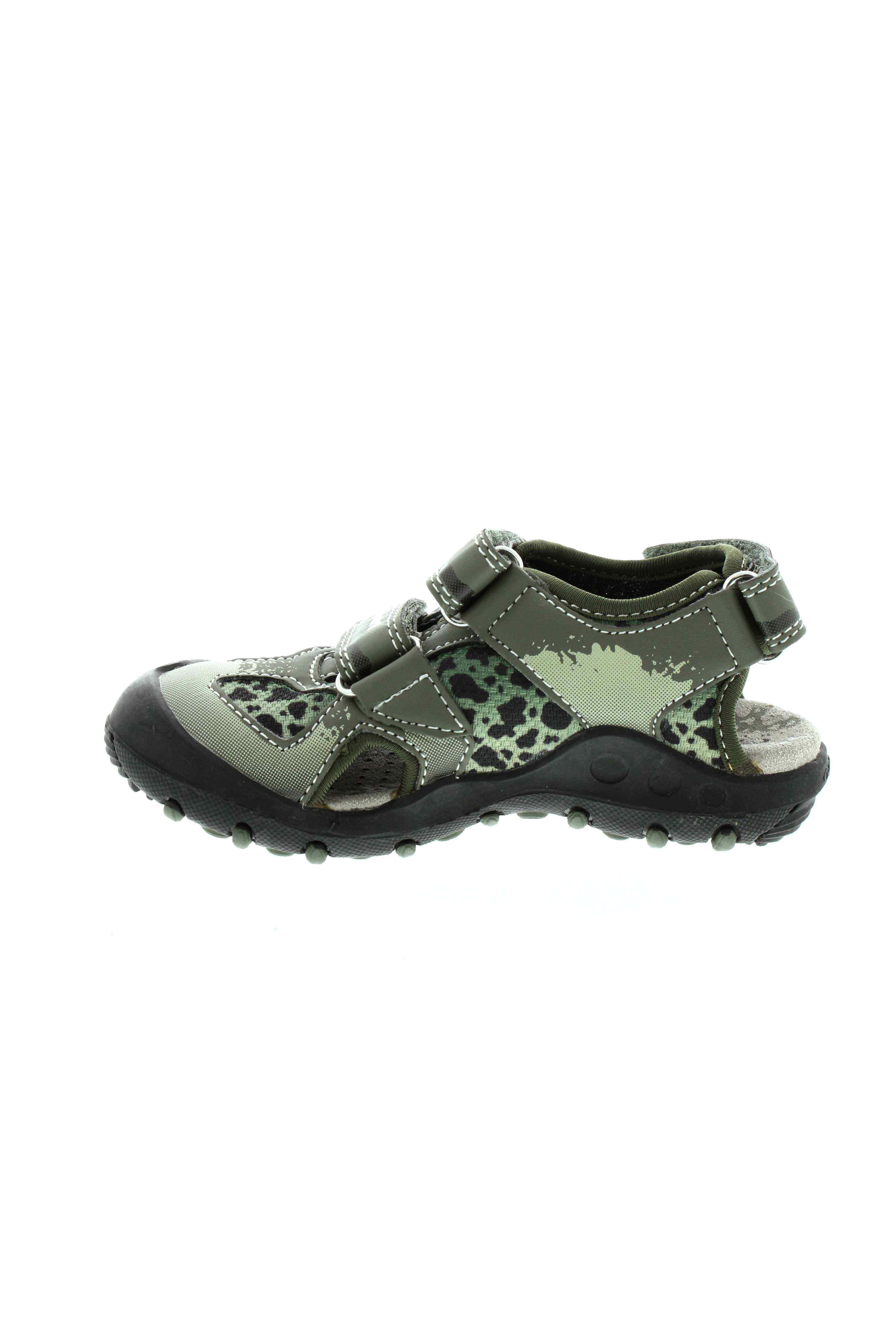 geox sandales nu pieds garcon de couleur vert en soldes pas cher 785541 vert00 modz. Black Bedroom Furniture Sets. Home Design Ideas