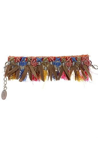 ambre et babzoe bracelets femme de couleur marron (photo)