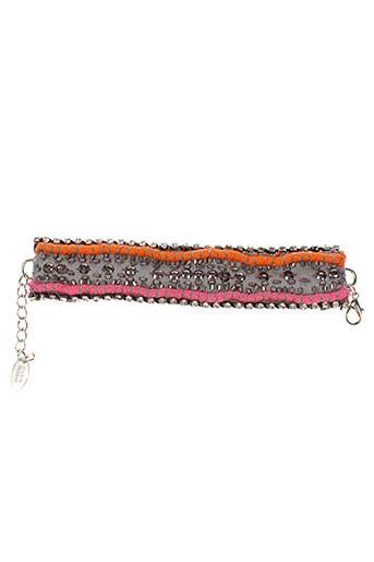 ambre et babzoe bracelets femme de couleur orange (photo)