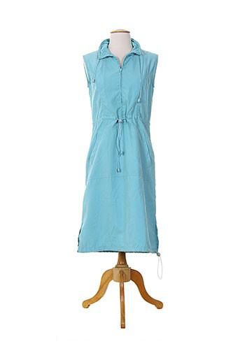 15 et degres et sud robes et mi et longues femme de couleur bleu (photo)
