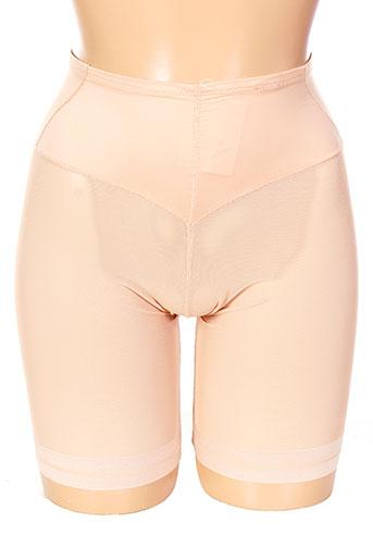 janira shortys et boxers femme de couleur beige