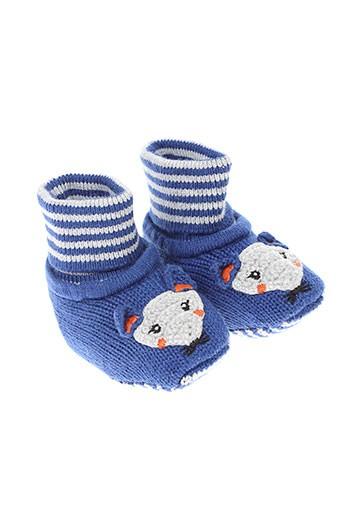 catimini chaussons enfant de couleur bleu