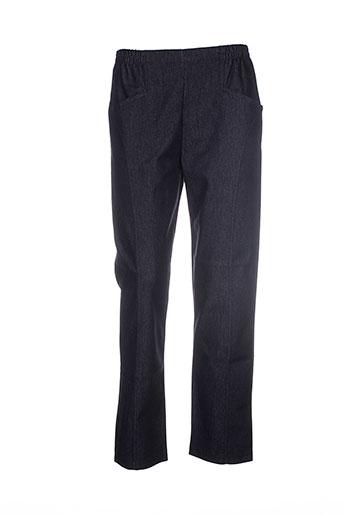 20 et 20 jeans et coupe et droite femme de couleur noir (photo)