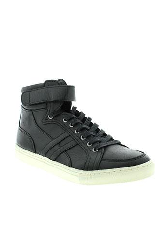 izac baskets homme de couleur noir