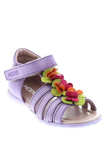 mod et 8 sandales et nu et pieds fille de couleur violet