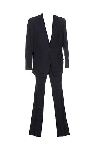 rochas pantalon et veste homme de couleur bleu