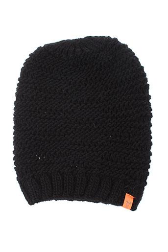 7 et seasons chapeaux et bonnets femme de couleur noir (photo)