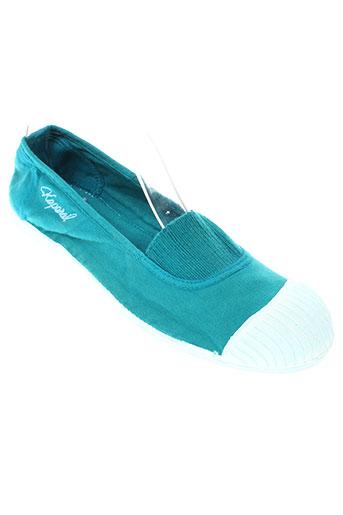 kaporal ballerines femme de couleur bleu