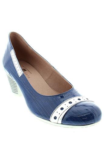 jose et saenz escarpins femme de couleur bleu