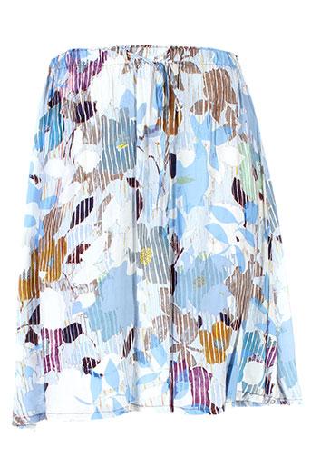 bellerose jupes et mi et longues femme de couleur bleu