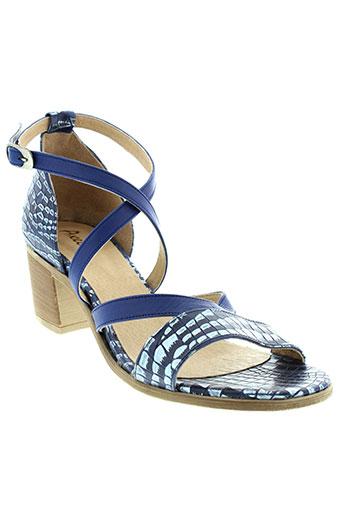 axell sandales et nu et pieds femme de couleur bleu