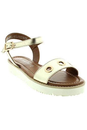 marco et tozzi sandales et nu et pieds femme de couleur jaune