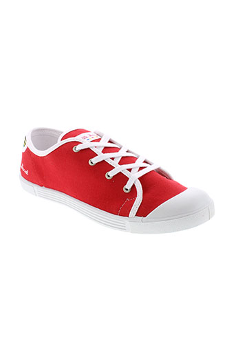 little et marcel baskets femme de couleur rouge