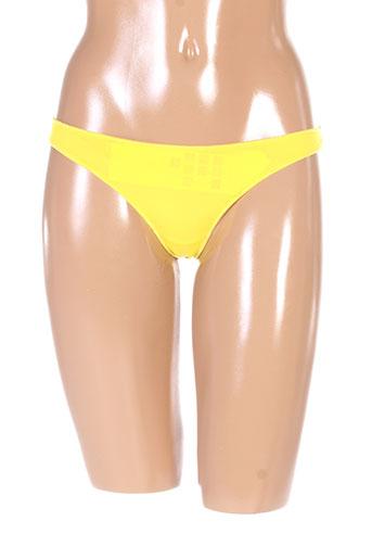 2 et rios strings et tangas femme de couleur jaune (photo)