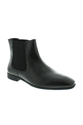 casanova boots homme de couleur noir