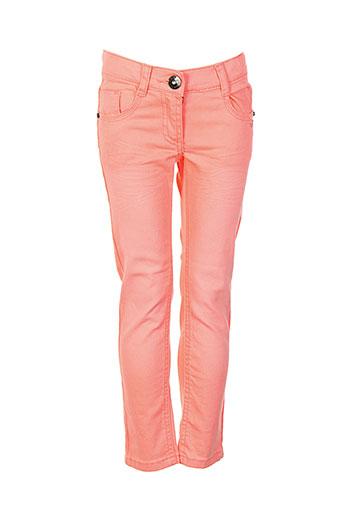 3 et pommes jeans et coupe et slim fille de couleur orange (photo)