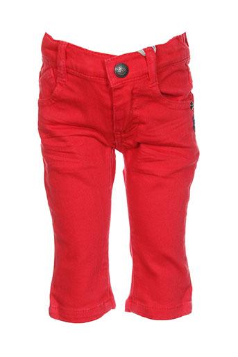absorba jeans et coupe et slim garcon de couleur rouge (photo)