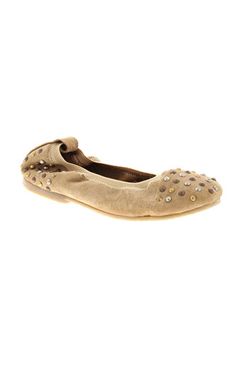 little et mary ballerines fille de couleur beige
