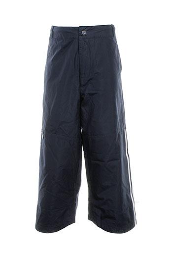 adidas pantacourts et decontractes garcon de couleur bleu (photo)