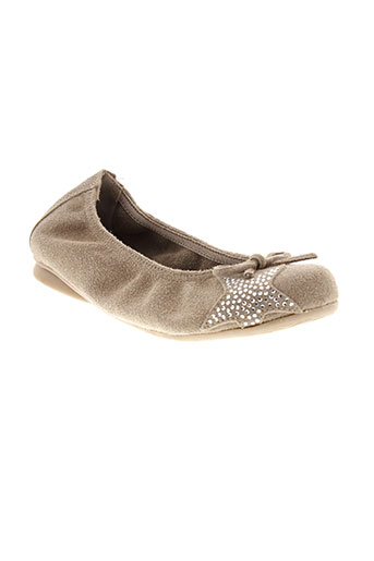 reqins ballerines fille de couleur marron