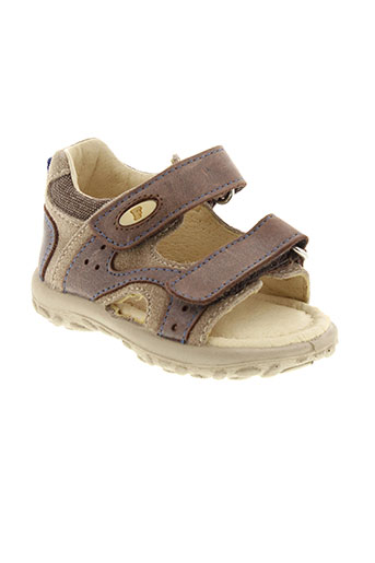 falcotto sandales et nu et pieds garcon de couleur marron