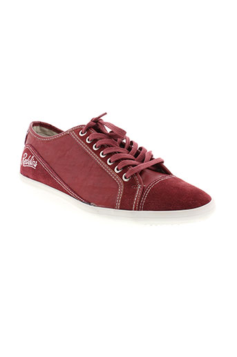 redskins baskets homme de couleur rouge